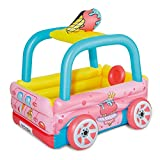 Summer Waves Ice Cream Truck Inflatable Kiddie & Toddler Pool & Play Center
