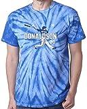 """The Silo TIE DIE BLUE Josh Donaldson Toronto """"Air HR NEW"""" T-Shirt"""