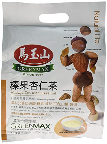 Greenmax - Almond Tea With Hazelnut (Pack of 1)