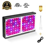 MARS HYDRO 600W LED Grow Light Full Spectrum for Hydroponic Indoor Plants Growing Veg and Flower Extremely Cool and Quiet