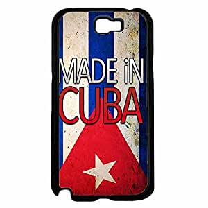Made in Cuba TPU RUBBER SILICONE Phone Case Back Cover Samsung Galaxy Note II 2 N7100