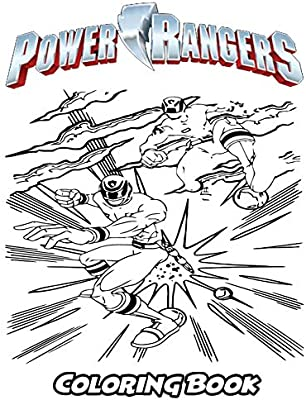 Power Rangers Coloring Book Coloring Book For Kids And Adults Activity Book With Fun Easy And Relaxing Coloring Pages By Ivazewa Alexa Amazon Ae