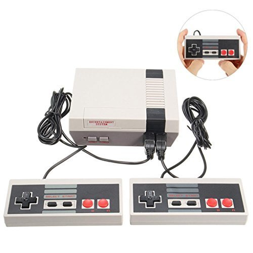 Startview NEW Retro Classic Game Consoles Built-in 500 Childhood Classic Game Dual Control, Love Life And Enjoy The Game Built In Isolation Transformer