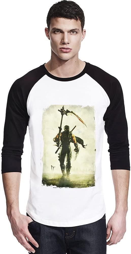 Ninja Gaiden II Ryu Sword Camisa unisex del béisbol Small ...