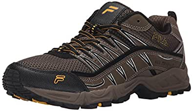 Fila Men's at Peake-M, Brown/Walnut/Goldfish, 7.5 M US