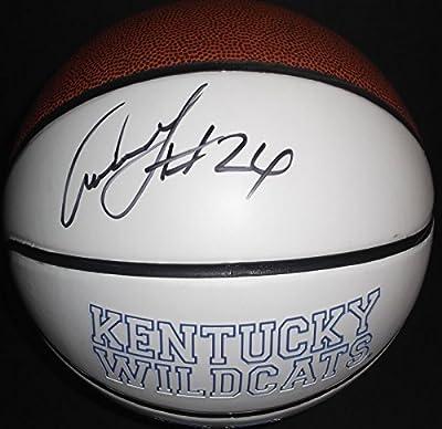Antoine Walker Kentucky Wildcats Autographed Signed Logo Basketball