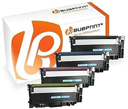 Bubprint 4 Toner Compatible con Samsung Xpress para sl-c430 C430W ...