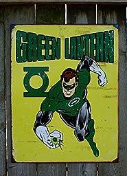 Green Lantern - Retro Metal Tin Sign 16\