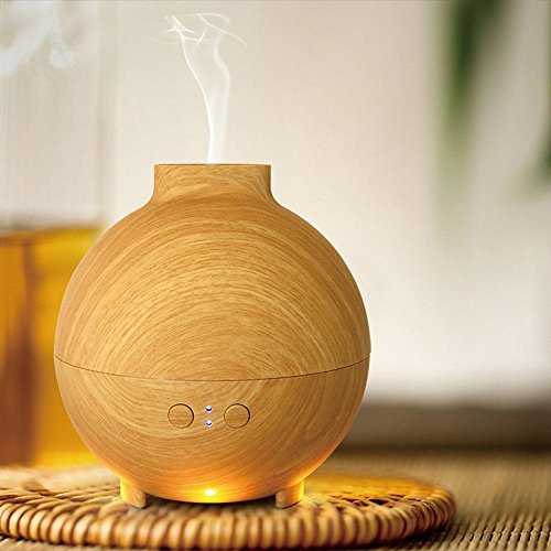 HICBOX 600ml Cool Mist Humidifier Ultrasonic Aroma Essential