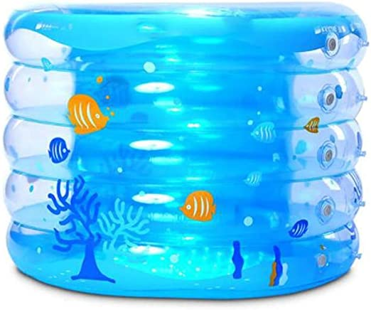 FCH Piscina Hinchable Transparente Piscina Infantil Hinchable Dos ...