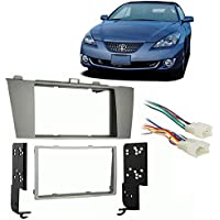 Fits Toyota Solara 2004-2008 Double DIN Stereo Harness Radio Install Dash Kit