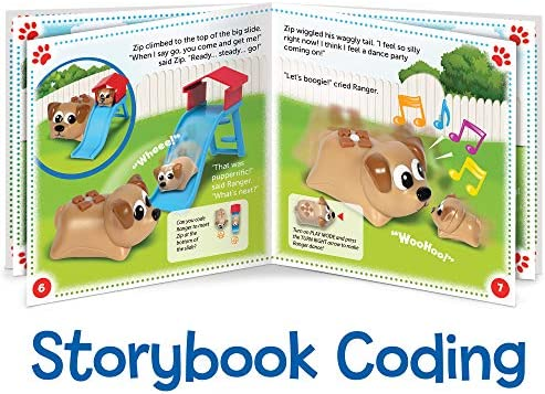 Learning Resources Coding Critters Ranger & Zip, Toy Of The Year Award Winner, Interactive STEM Coding Toy, Early Coding Toy For Kids, 22 Piece Set, Ages 4+