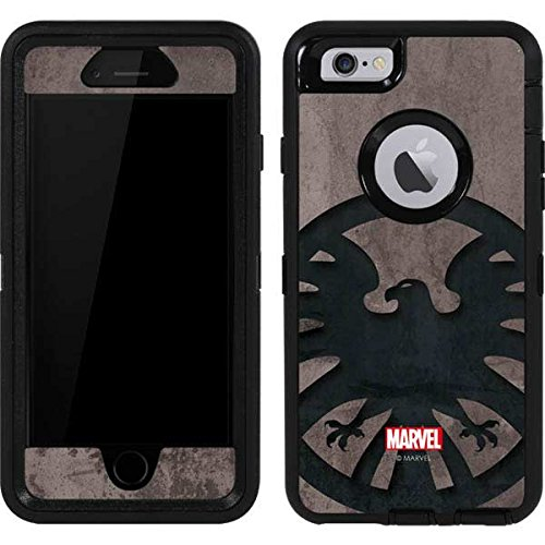 huge selection of 88f23 4a917 Skinit Marvel Avengers OtterBox Defender iPhone 6 Skin - Shield Emblem  Design - Ultra Thin, Lightweight Vinyl Decal Protection