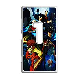 Hot Robin comics & Batman Background Case Cover for Nokia Lumia 920- Personalized Hard Cell Phone Back Protective Case Shell-Perfect as gift