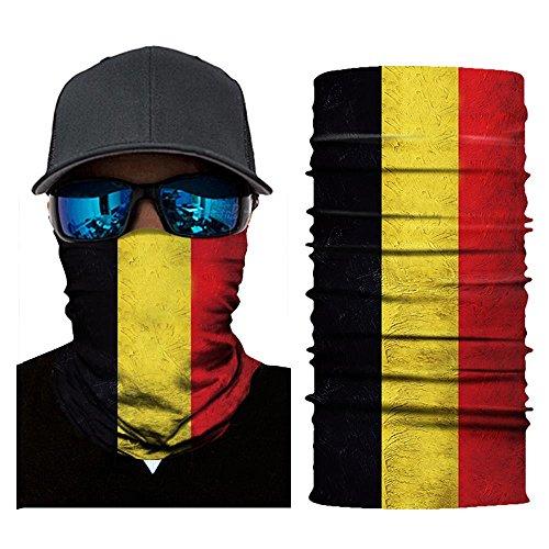 Glumes Face Mask Half Sun Dust Protection|Vivid 3D