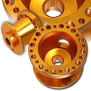 T6061 Orange Aluminum Steering Wheel 6-Hole HUB Adapter For Nissan 200SX, 240Z, 260Z, 280z, 300ZX
