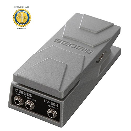 Boss FV-30H Foot Volume Compact High-impedance Volume/Expression Pedal with 1 Year Free Extended Warranty by BOSS