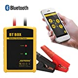 AUTOOL Direct Auto Battery Load Tester 100-2400 CCA Bluetooth Battery Health Wireless Diagnose Bad Cell Analyzer Both Fit for Android & IOS System for 12V Cars
