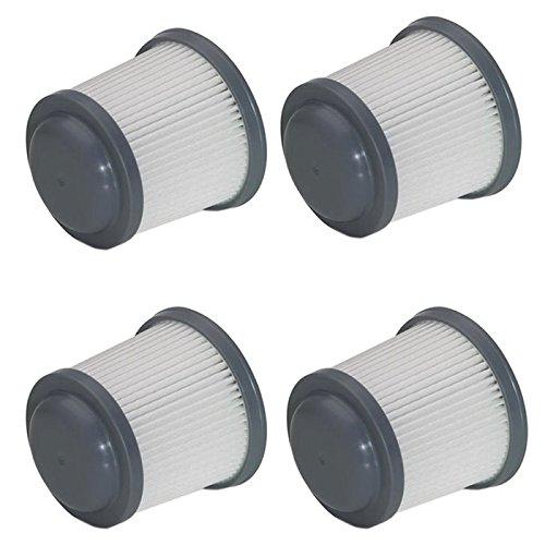 Black & Decker OEM 90552433-01 PVF110 hand vac vacuum air filter (4 Pack)