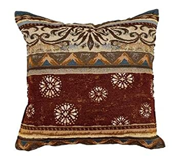 Simply Home Santa Fe Decorative Tapestry Toss Pillow USA Made SKU PTP899