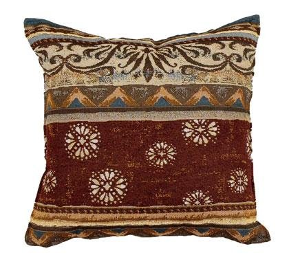 Pillow Decorative Toss Tapestry - Simply Home Santa Fe Decorative Tapestry Toss Pillow USA Made SKU PTP899