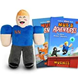 NubNeb Nub's Adventures Plush Bundle - The Great Jailbreak and The Race Against Hackers 10 Inch Plush Toy Set