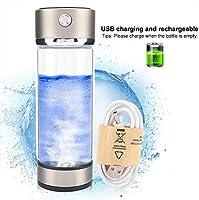 Simlug - Vaso de Agua de hidrógeno portátil, con Cargador USB y ...