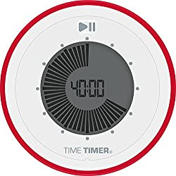 Time Timer TWIST 90 Minute Visual Digital Timer; Magnetic and Portable Time Management Tool