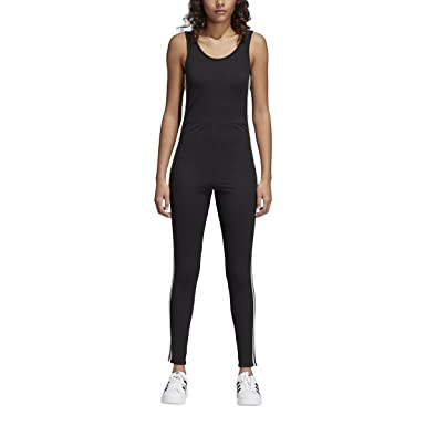 e72580521d2f Image Unavailable. Image not available for. Color  adidas Women Clothing Adibreak  Jumpsuit ...