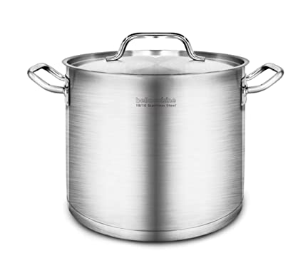 Bella Cuisine | Amazon Com Bella Cuisine Stainless Steel Stockpot Cookware With Lid
