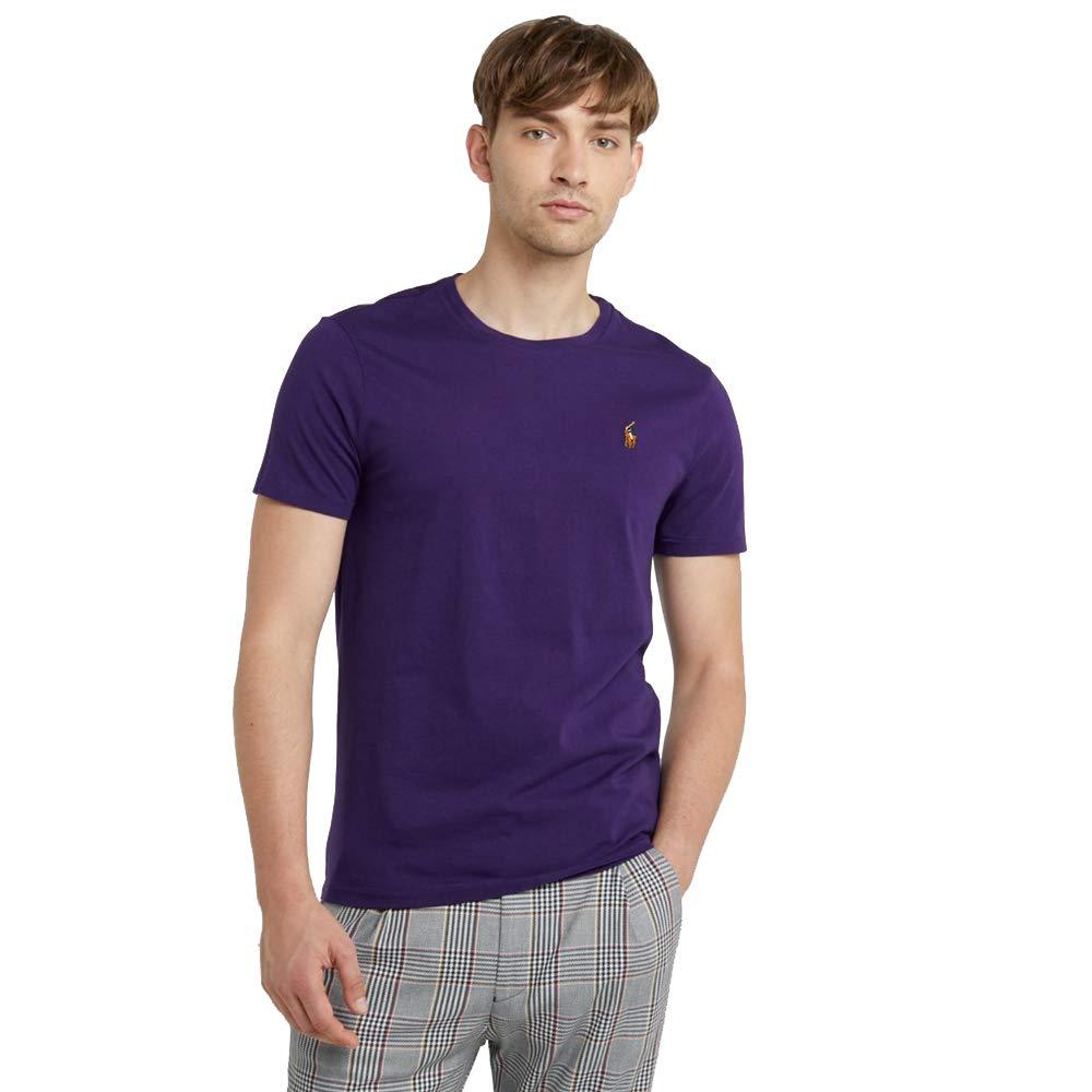 Ralph Lauren T-Shirt Basic da Uomo Custom Slim Fit