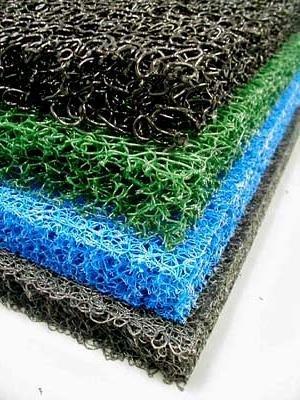 """4 Sheets 4 Color Matala Pond Filter Mat Koi Media Pad 39"""" X 24"""""""