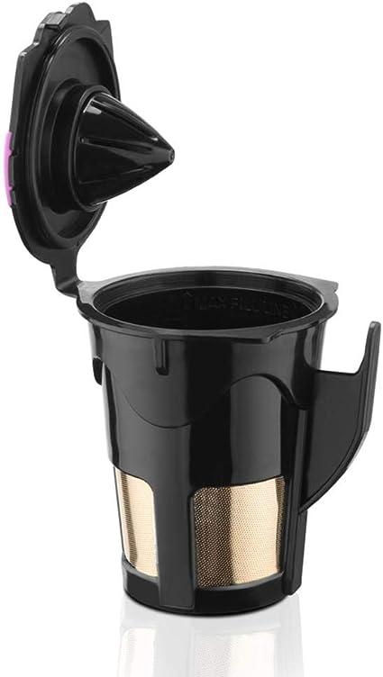 CARTEY Filtro de café de Malla Reutilizable para Keurig, cápsula ...