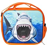 8'' 3D FOAM SHARK LUNCH PACK, Case of 12