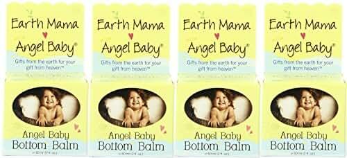 Earth Mama Angel Baby, Bottom Balm (4 Pack)
