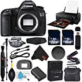 6Ave Canon EOS 5DS DSLR Camera (Body Only) International Version (No Warranty) + Epson SureColor P800 Inkjet Printer + 16GB & 32GB SDHC Class 10 Memory Card + Carrying Case Bundle