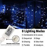 Joomer LED Icicle Lights,400 LED 39.4Ft 8 Modes
