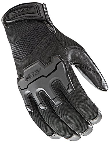 Joe Rocket Men's Eclipse Gloves (Black, Small)