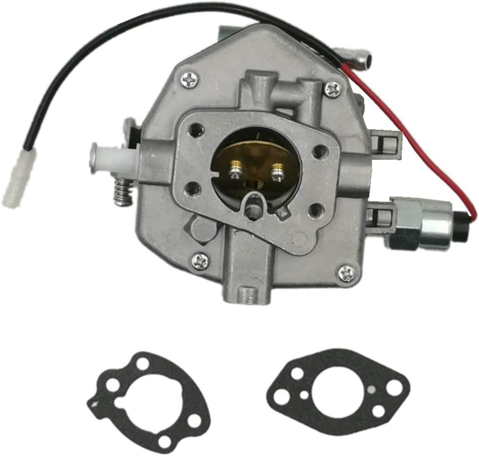 Carbman 845015 Carburetor with Gasket Solenoid Valve for Briggs &Stratton 845906 809013 808252 807943 Vanguard 16hp Engine for Nikki Carburetor 16HP