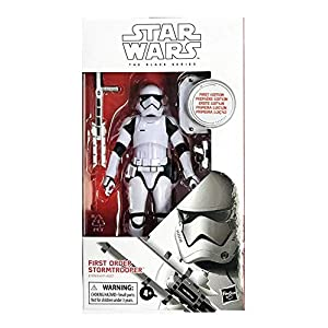 DisneyHasbro The Black Series Rise of Skywalker 6-inch First Edition- Limited White Box First Order Stormtrooper