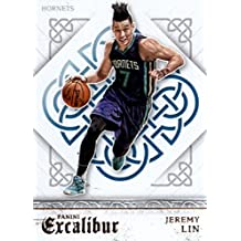 2015-16 Panini Excalibur #119 Jeremy Lin Charlotte Hornets Basketball Card