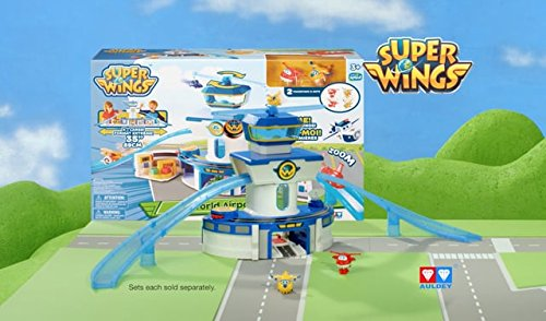 Super Wings Of Sprout Tv World Airport Play Set Bundle