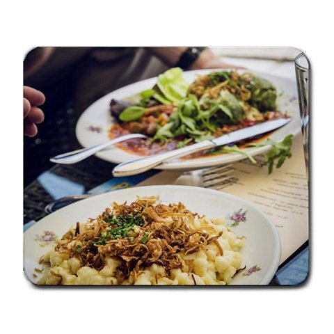 GofShop - Yummy Hot Cheese Noodle - Non-slip Rubber Mouse pad