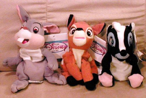 Disney's Bambi, Thumper and Flower the Skunk