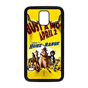 Generic for Samsung Galaxy S5 Cell Phone Case Black Home on the Range Custom HAKHAOKHG2842
