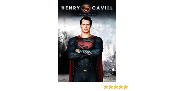 Official Henry Cavill (Superman) 2014 Calendar : danilo ...