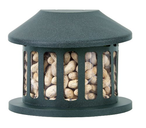 Metal Peanut Feeder - Woodlink Squirrel Diner Feeder  Model 75590