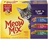 Meow Mix, Surf 'N Turf Variety Pack, 2.75-Ounce Cups (Pack of 48), My Pet Supplies