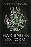 Front cover for the book Harbinger of the Storm by Aliette de Bodard