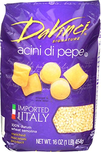 DaVinci Acini Di Pepe, 16-ounces (Pack of12) (Da Vinci Pasta)